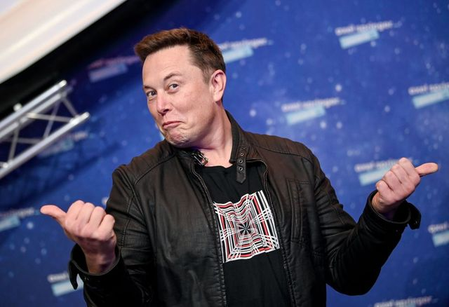 spacex owner and tesla ceo elon musk poses as he arrives on the red carpet for the axel springer awards ceremony, in berlin, on december 1, 2020 photo by britta pedersen  pool  afp photo by britta pedersenpoolafp via getty images