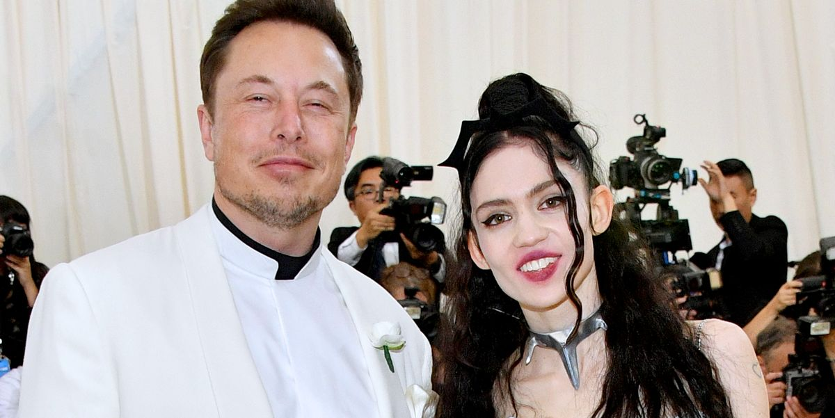 Grimes Welcomes Baby Boy Elon Musk Shares First Baby Photos