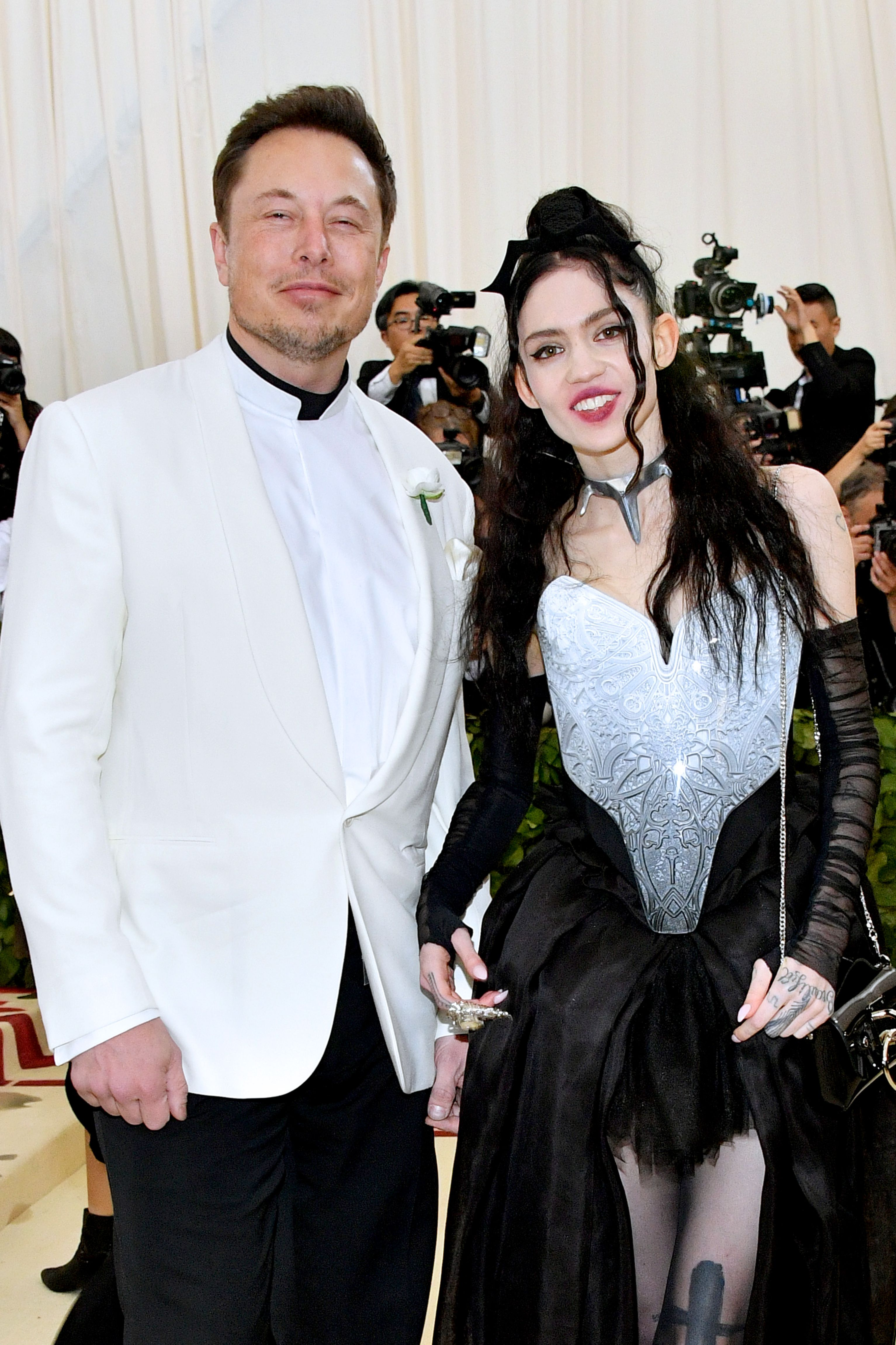 He's currently dating the musician Grimes.