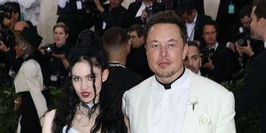 Elon Musk en Grimes