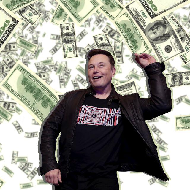 100 hundred dollar bills falling over white