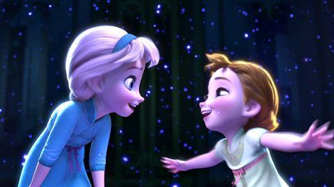 Elsa Anna niñas