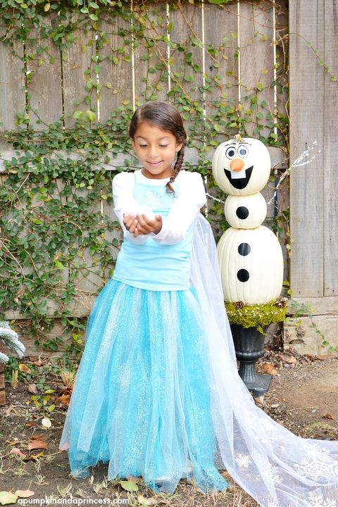 elsa diy frozen costumes