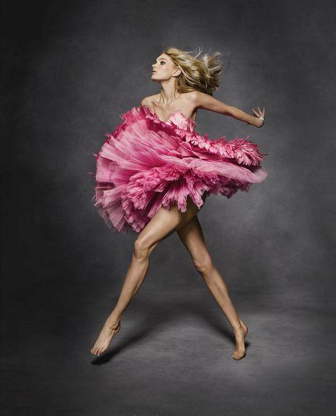 Pink, Dancer, Footwear, Dress, Ballet tutu, Ballet dancer, Dance, Costume, Shoe, Performing arts,