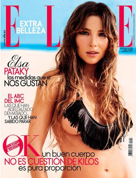 elsa pataky portada de elle mayo 2007