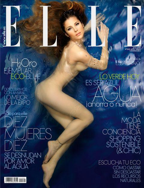 portada de elsa pataky  elle junio 2008