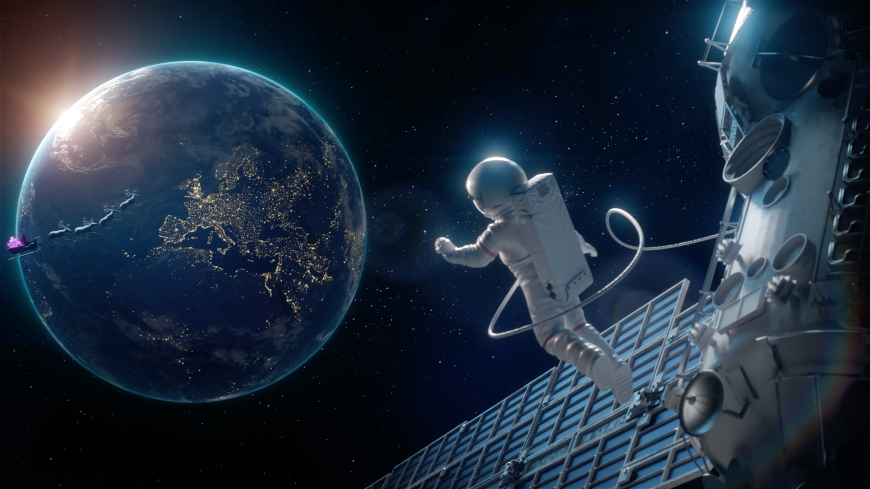 Watch Very co uk's Heartwarming Space-Themed Christmas