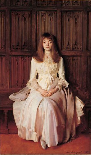 Elsie Palmer portrait by John Singer Sargent