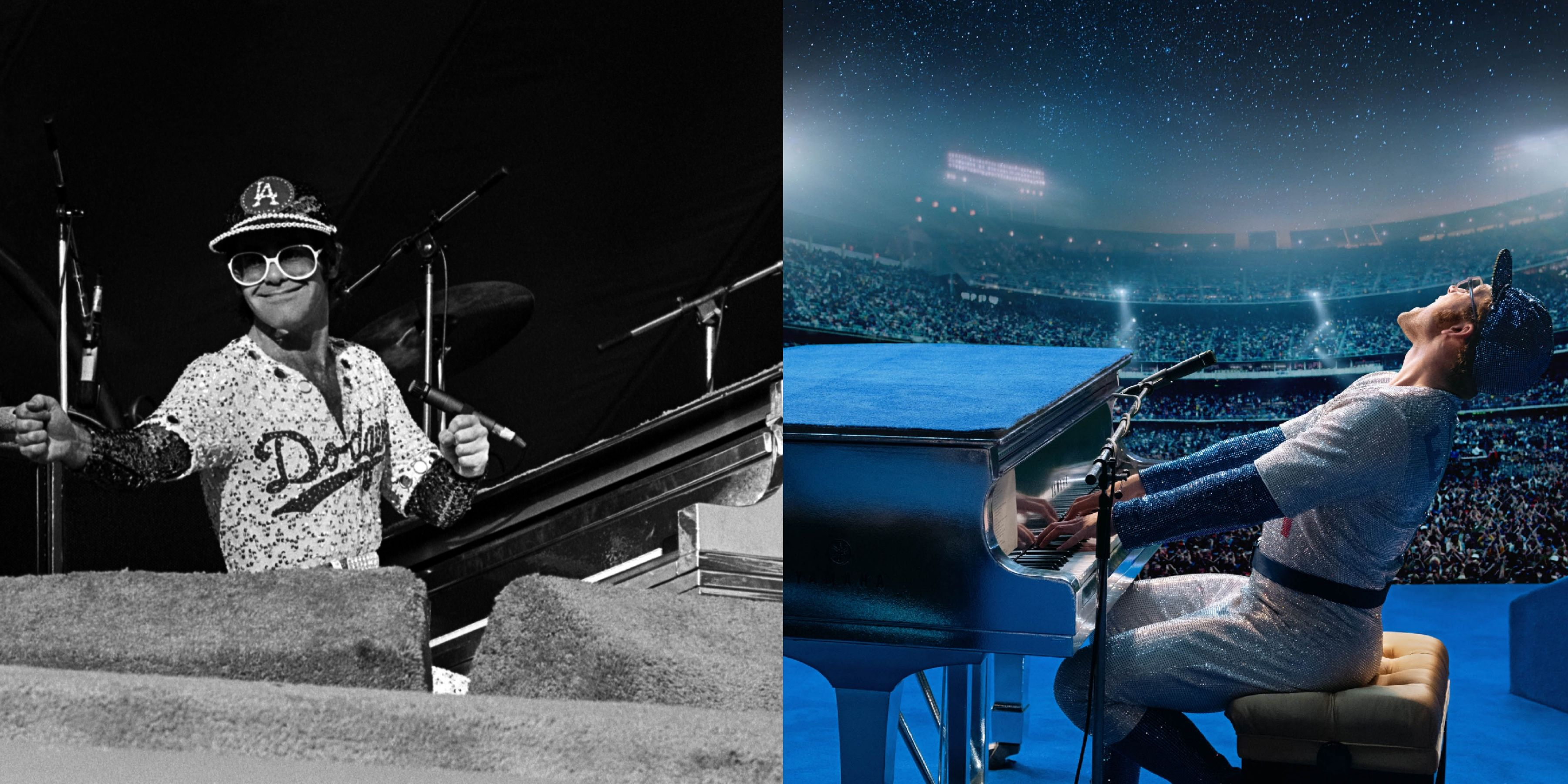 The Changes Rocketman Made to Elton John's Real Life Actually Work