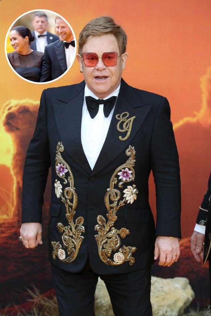 Elton John da la cara por los Duques de Sussex