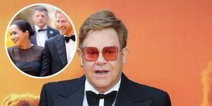 Elton John defiende a Meghan y Harry