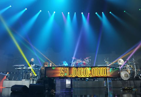 "Elton John's Triumphant Return To Caesars Palace With ""Million Dollar Piano"""