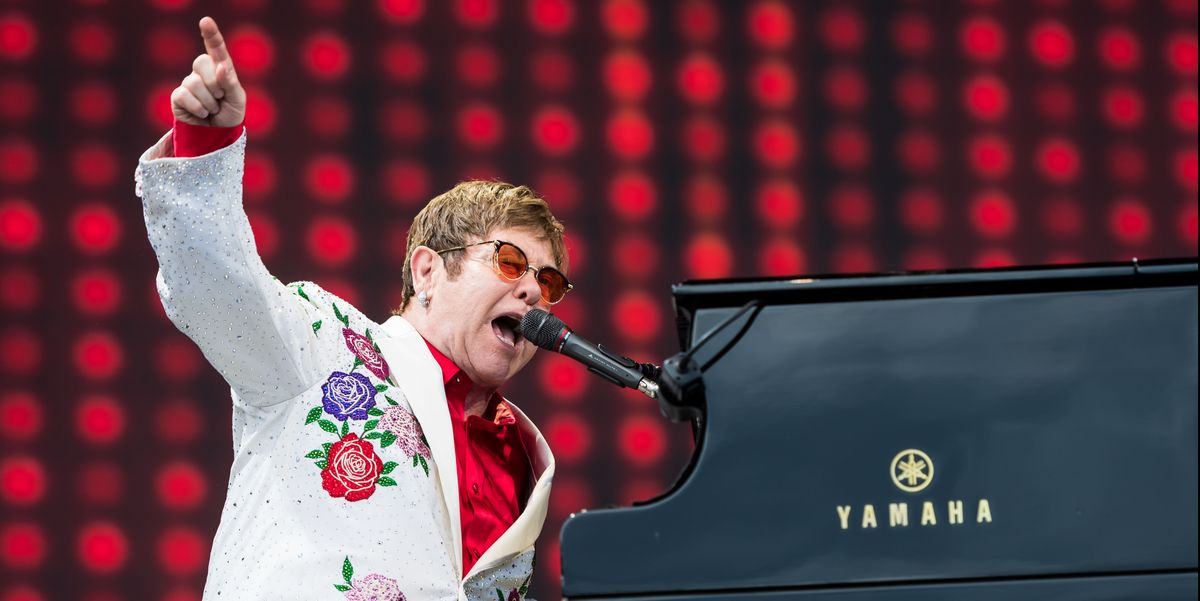 Elton John Is Live-Streaming a Coronavirus Benefit Concert From His Living Room Tonight