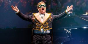 Elton John In Concert - Detroit, MI