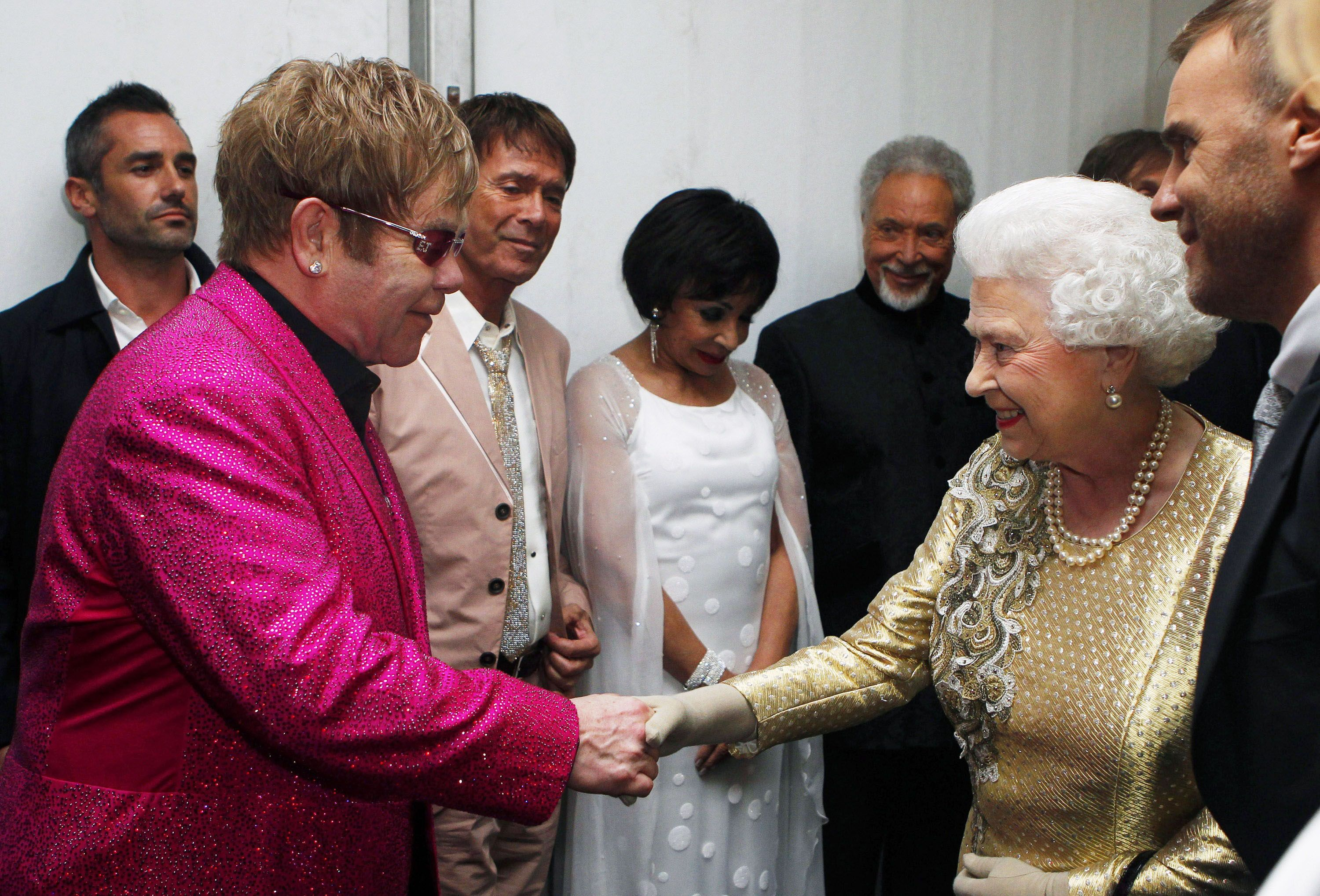 "Elton John Danced to""Rock Around the Clock"" With The Queen"