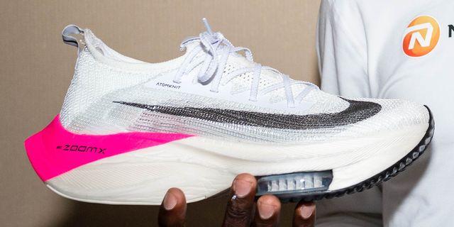 proporcionar un montón de seleccione para oficial Venta barata Eliud Kipchoge Two-Hour Nike Shoes - Inside Look