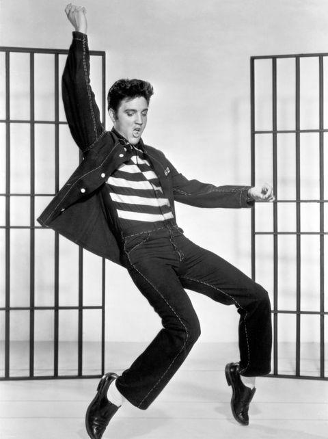 elvis presley en el rock de la cárcel 1957 ellees