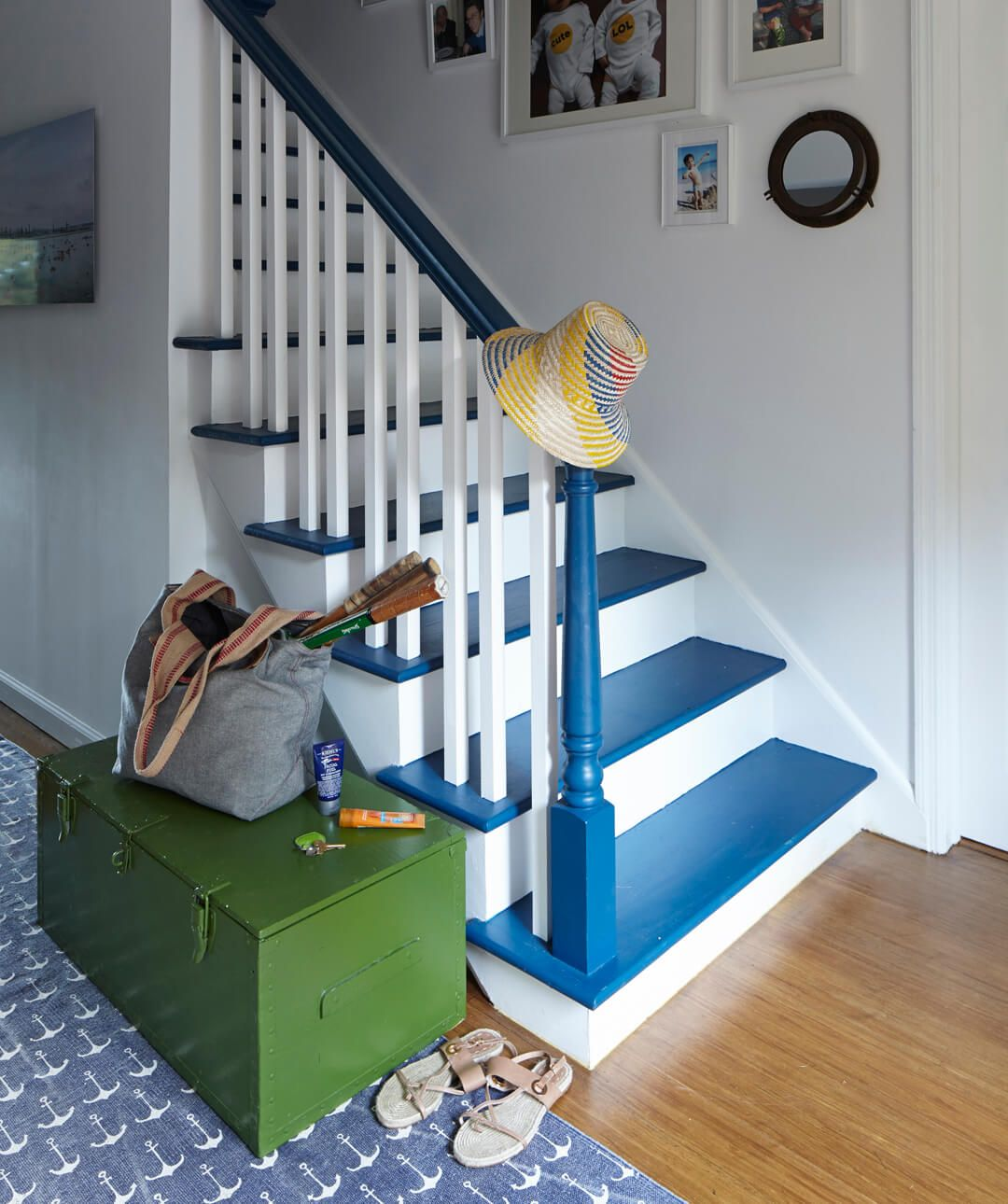 How To Paint Stairs The Right Way To Paint Stairs