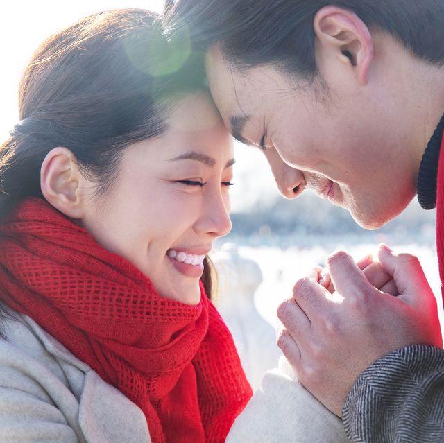 embrace the romantic couples