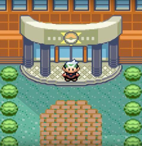 View Pokemon Emerald Post Game  Background
