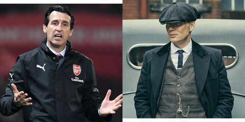 Arsenal Manager Unai Emery Is Learning English By Watching 'Peaky Blinders'