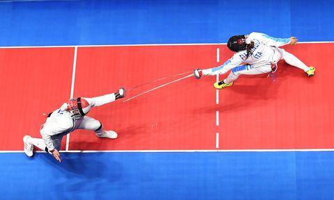 Rossella Fiamingo OlimpiadiFencing - Olympics: Day 1
