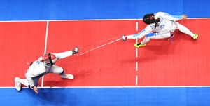 Fencing - Olympics: Day 1