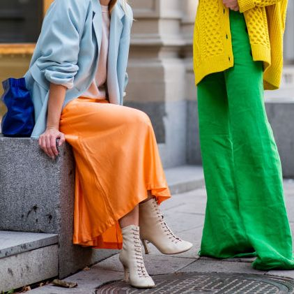 street style bright colors