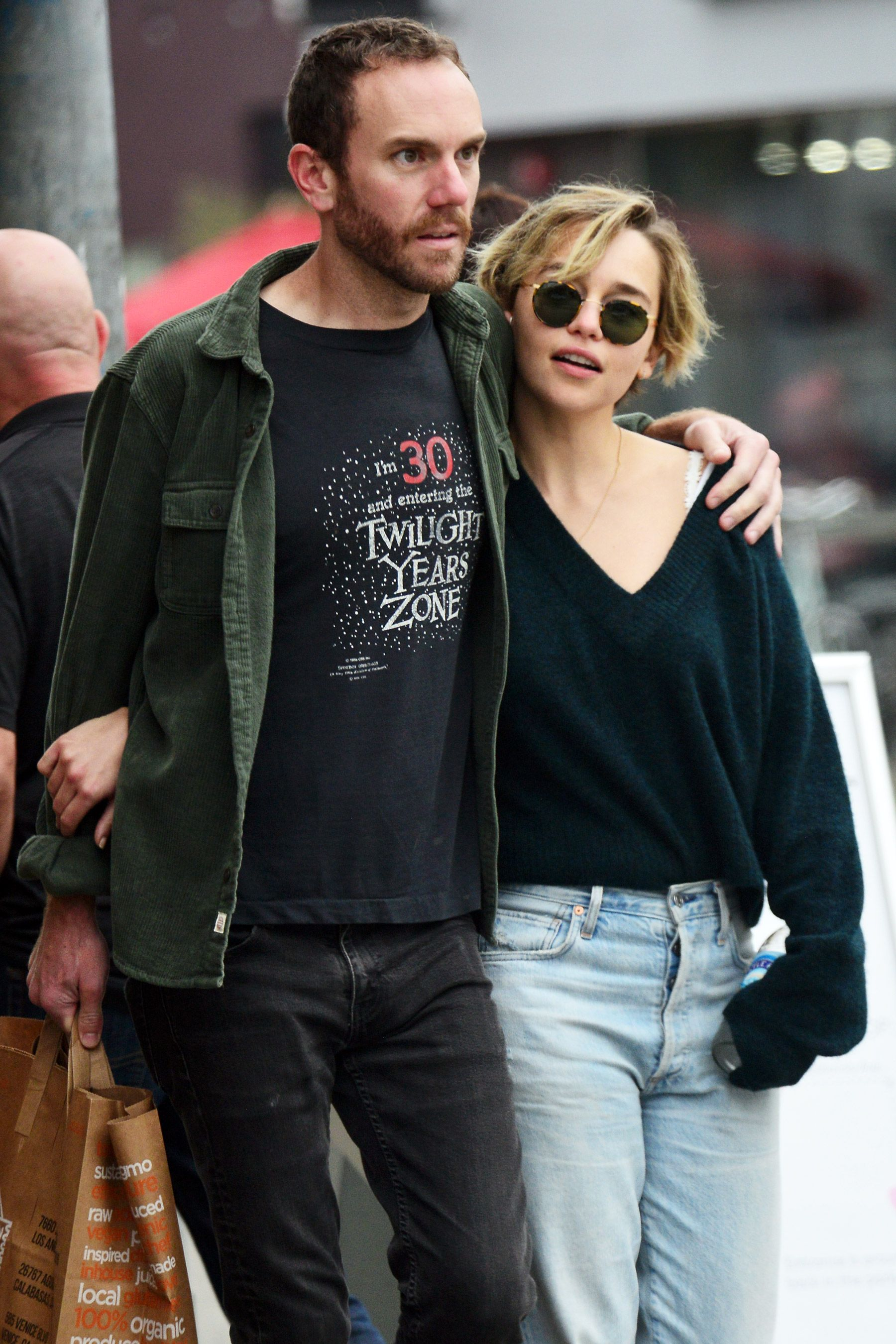 Emilia Clarke (Daenarys Targaryen) and Charlie McDowell The mother of dragons and her beau were first spotted together back in 2018.