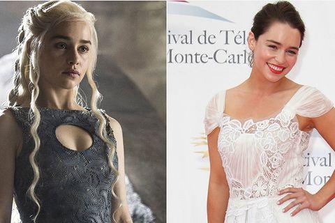 Daenerys Targaryen vs. Emilia Clarke
