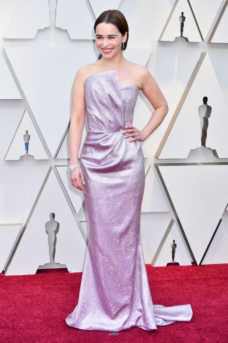 Emilia Clarke outfit Oscar 2019