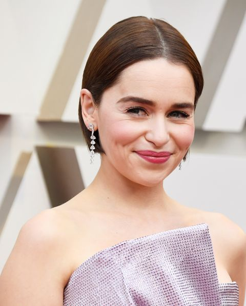 Emilia Clarke Just Debuted A New Hair Color On The Oscars