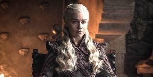 Emilia Clarke as Daenerys, Game of Thrones