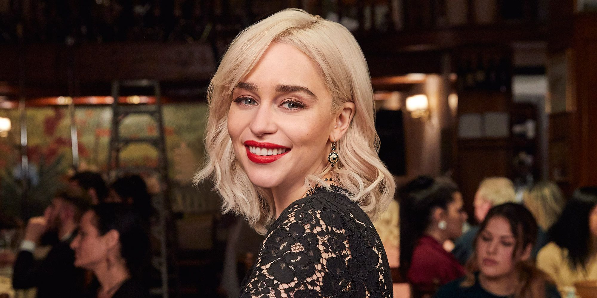 Emilia Clarke for new Dolce Gabbana The Only One