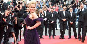 Emilia Clarke at the Cannes Film Festival wearing Dior