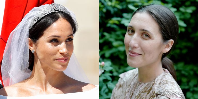 Emilia wickstead accuses meghan markles wedding dress of being meghan markle and emilia wickstead junglespirit Choice Image