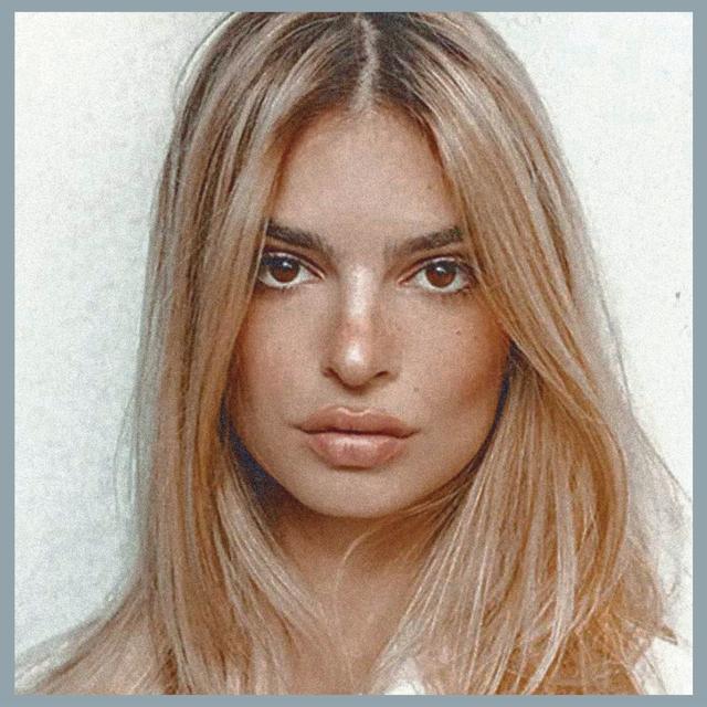 emily ratajkowski clapback instagram criticism blonde hair