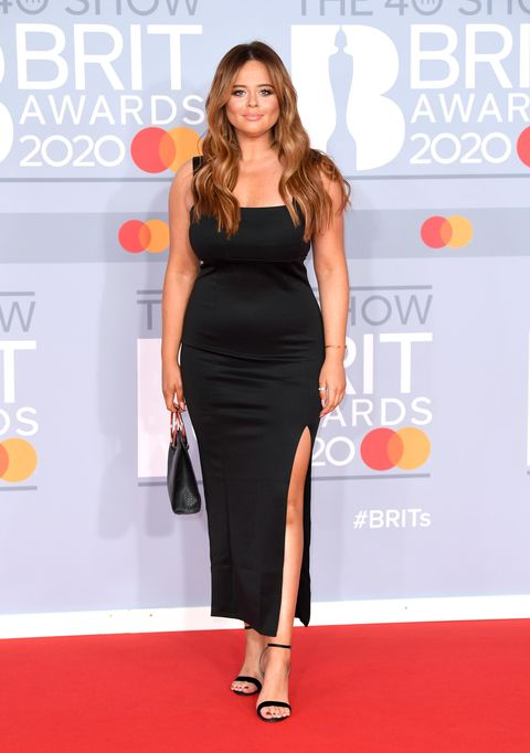 emily atack, brit awards 2020