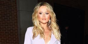 Emily Atack attends her VIP clothing launch party with In The Style Launch at Libertine in London