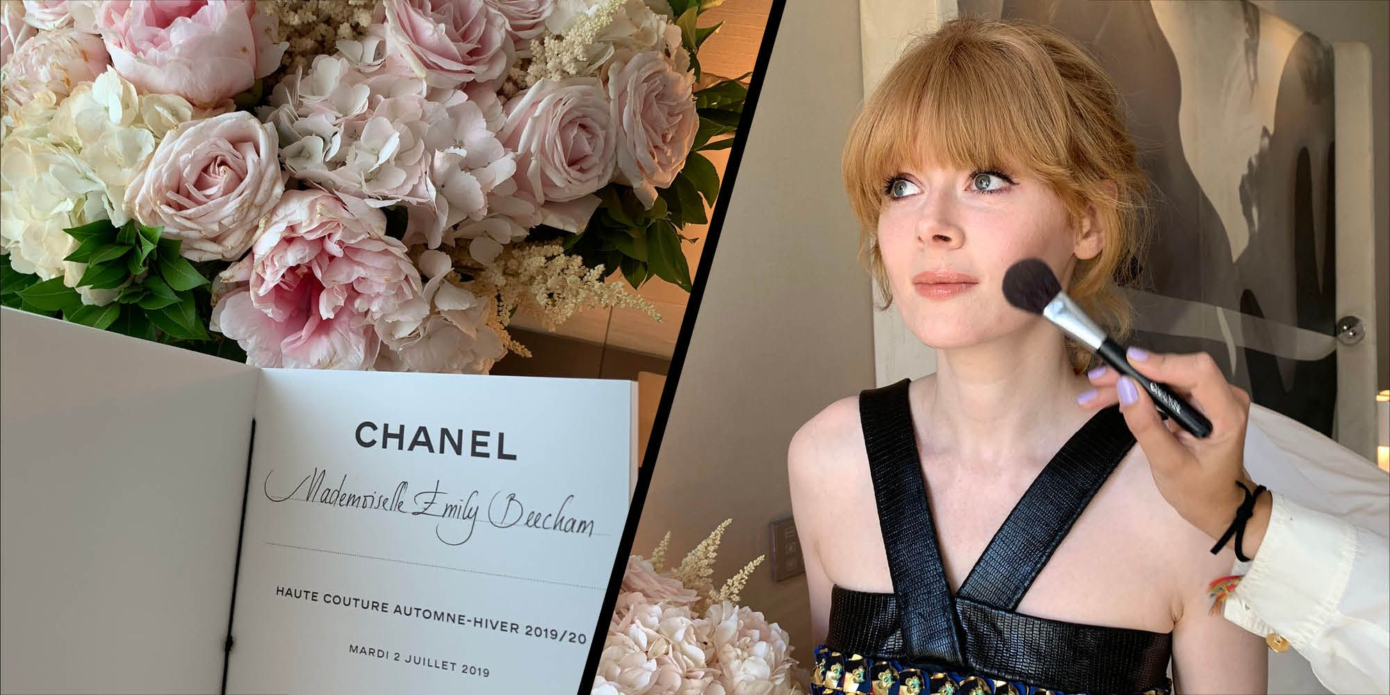 Inside the Chanel Couture show with Emily Beecham