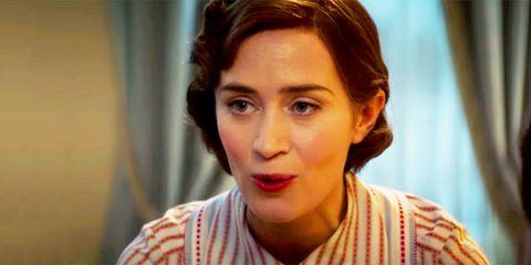 Emily Blunt Mary Poppins Returns Trailer
