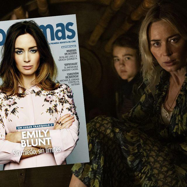 Emily Blunt, portada de Fotogramas de marzo
