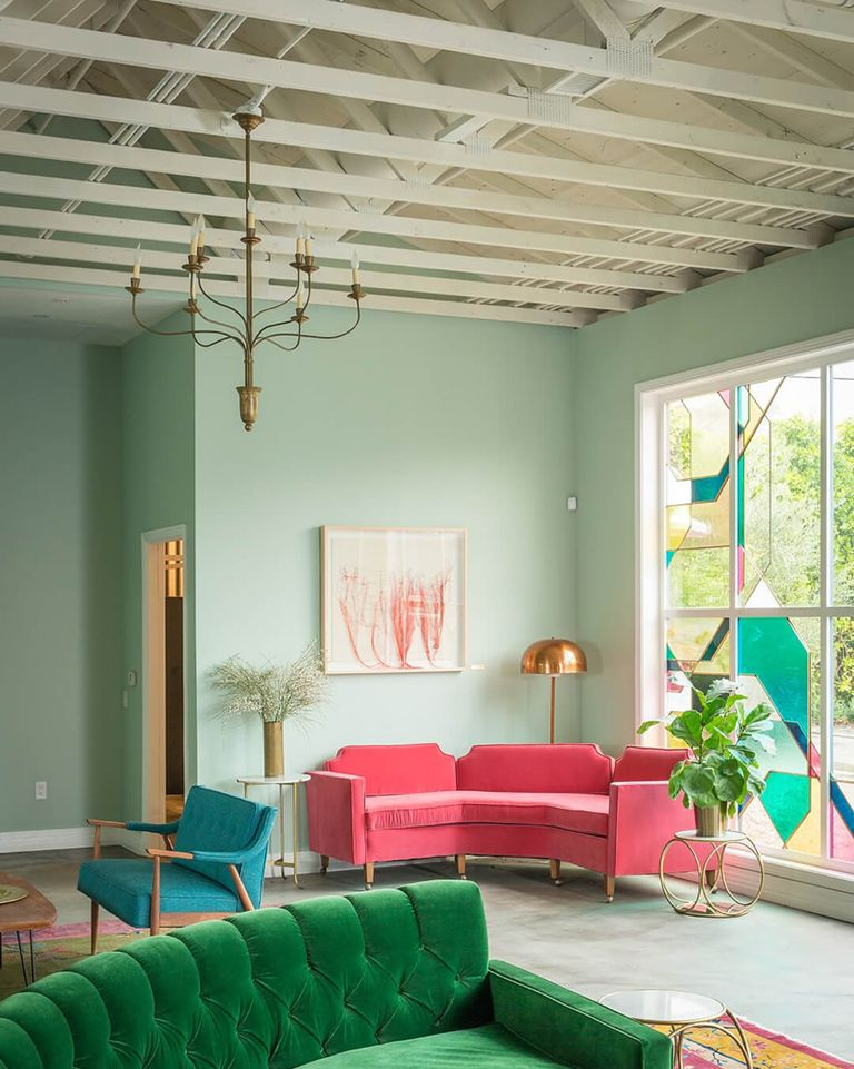 14 calming colors soothing and relaxing paint colors for every room for Calming colors for living room