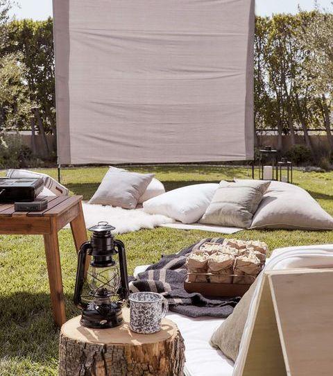 Furniture, Table, Tree, Grass, Yard, House, Home, Room, Backyard, Garden,