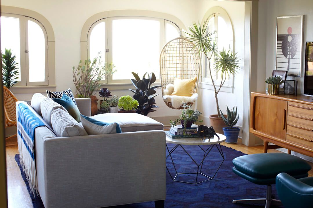 image. Emily Henderson. If your living room ... & 15 Best Small Living Room Ideas - How to Design a Small Living Room
