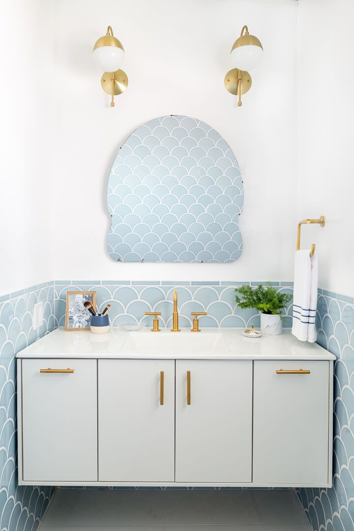image & Powder Room Decorating Ideas - Powder Room Design and Pictures