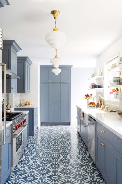 48 Blue Kitchen Design Ideas Blue Kitchen Walls Extraordinary Blue Kitchen Designs