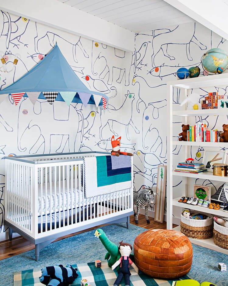 Beautiful Baby Rooms: Unique Nursery Decorating Ideas