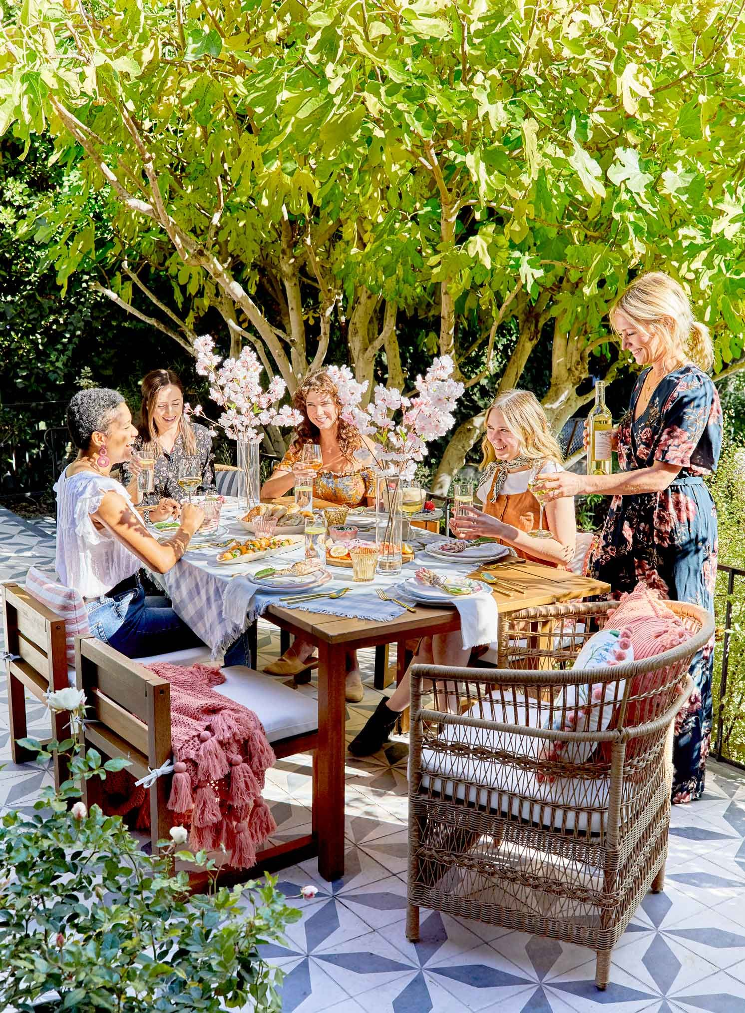 Emily Henderson's Guide to Throwing a Gorgeous Garden Party