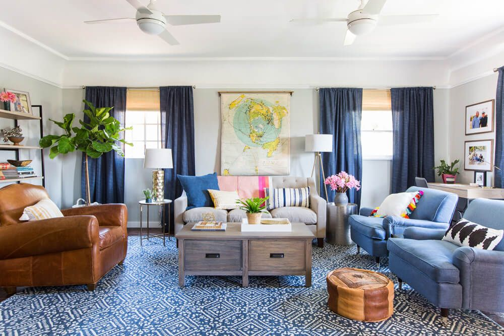 Courtesy of Tessa Neustadt for Emily Henderson Designs & 35 Stylish Gray Rooms - Decorating with Gray